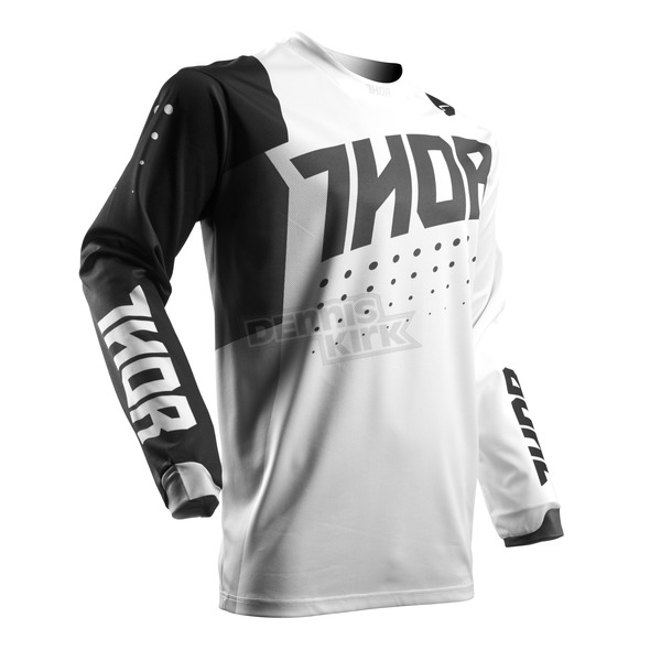 Thor Youth Black/White Pulse Aktiv Jersey - 2912-1401