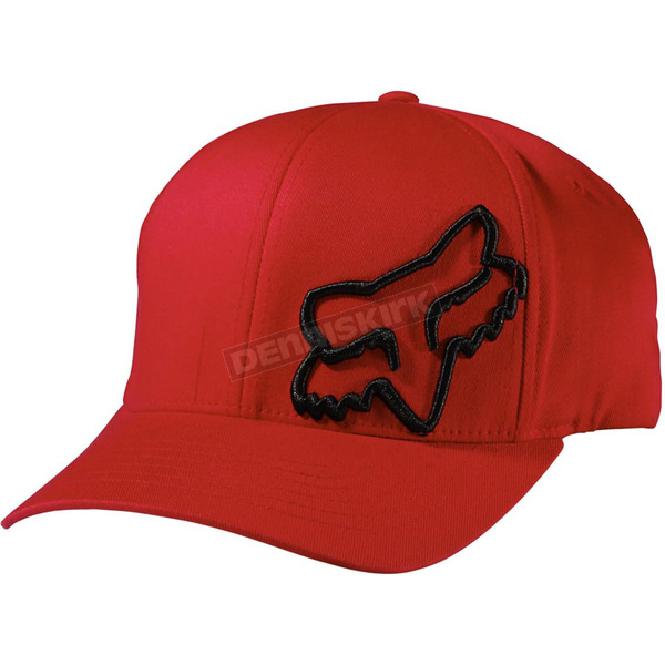 Fox Red Flex 45 FlexFit Hat - 58379-003-S/M