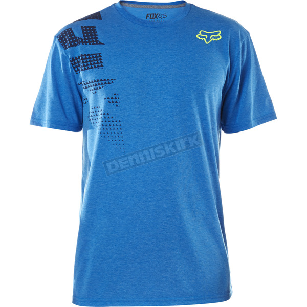 Fox Heather  Blue Senseless Tech T-Shirt - 18314-522-S