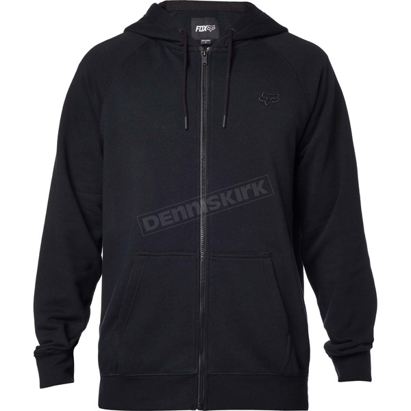 Fox Black Legacy Zip Hoody - 17616-001-M
