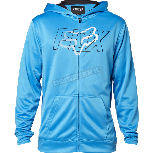 Fox Surface Blue Skars Zip Hoody - 18058-002-S