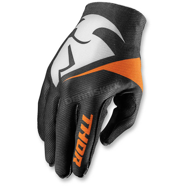 Thor Black Invert Flection Gloves - 3330-3925
