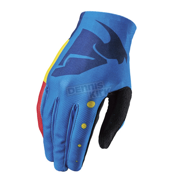 Thor Youth Multi Color Void Aktiv Gloves - 3332-1083