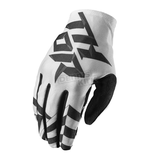 Thor Youth White/Black Void Dazz Gloves - 3332-1091