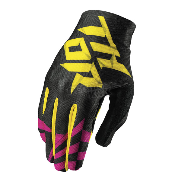 Thor Youth Magenta Void Dazz Gloves - 3332-1097