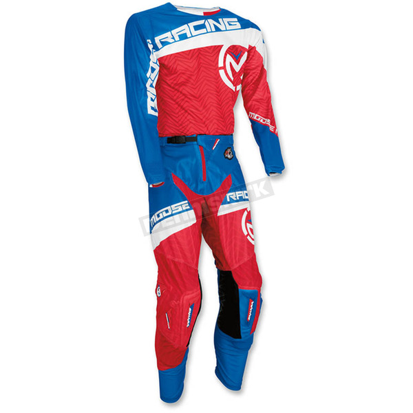Moose Red/White/Blue Sahara Jersey - 2910-4015