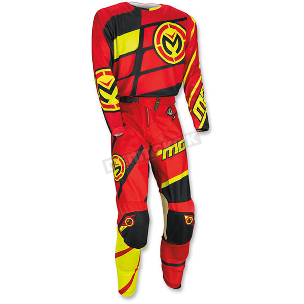 Moose Red/Yellow/Black M1 Jersey - 2910-4056