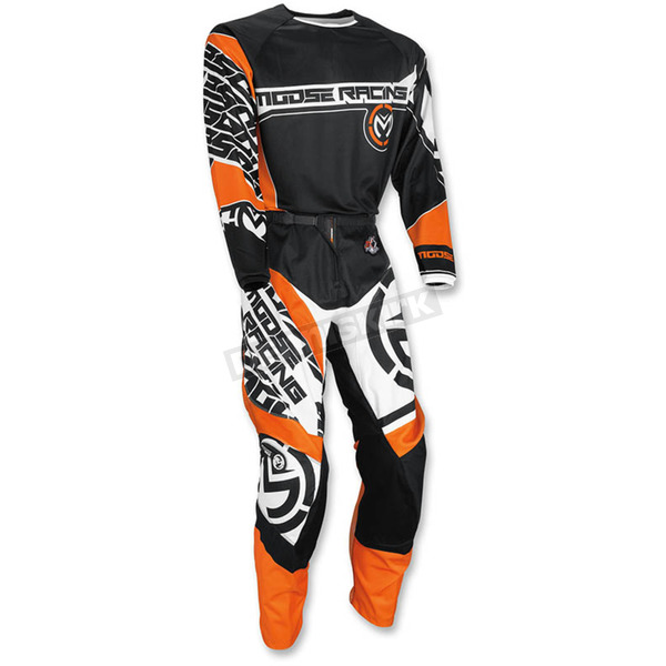 Moose Orange/Black Qualifier Jersey - 2910-4074