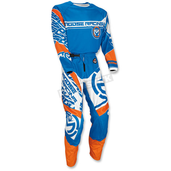 Moose Blue/Orange Qualifier Jersey - 2910-4086