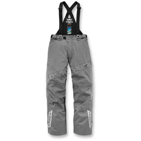 Icon - Raiden Gray Raiden DKR Monochromatic Waterproof Pants - 2821-0937