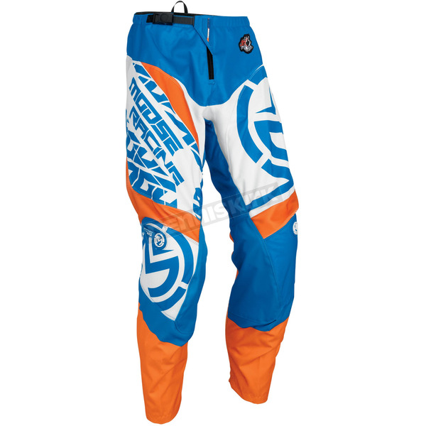 Moose Blue/Orange Qualifier Pants - 2901-6086