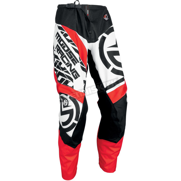 Moose Red/Black Qualifier Pants - 2901-6103