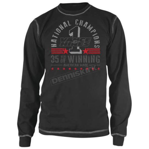 Speed and Strength Vance & Hines Anniversary Thermal Long Sleeve Shirt - 879613