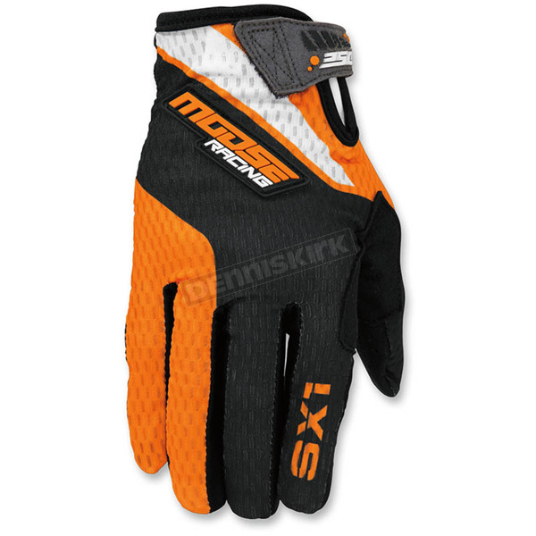 Moose Orange/Black SX1 Gloves - 3330-4265