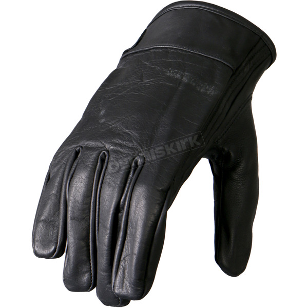 Hot Leathers Gel Palm Leather Gloves - GVM1024M