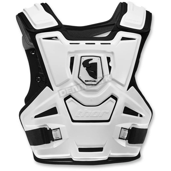 Thor Youth White/Black Sentinel Roost Guard - 2701-0783