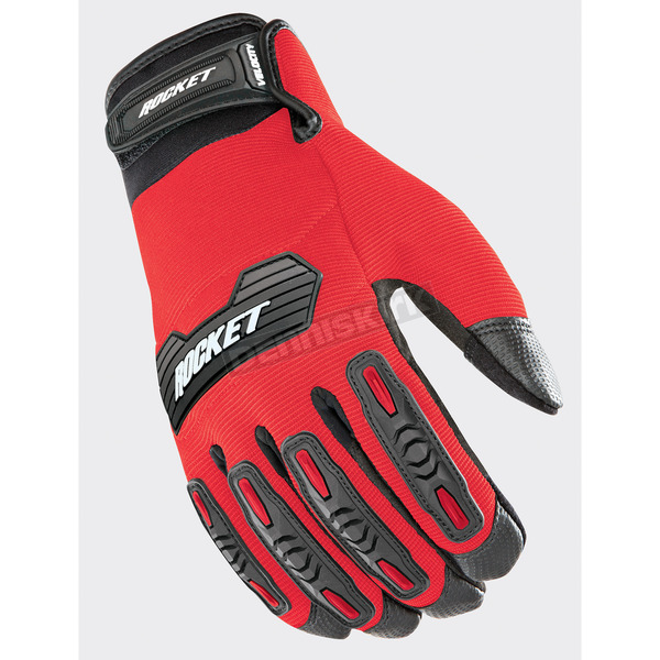 Joe Rocket Red/Black Velocity 2.0 Gloves - 1610-4103