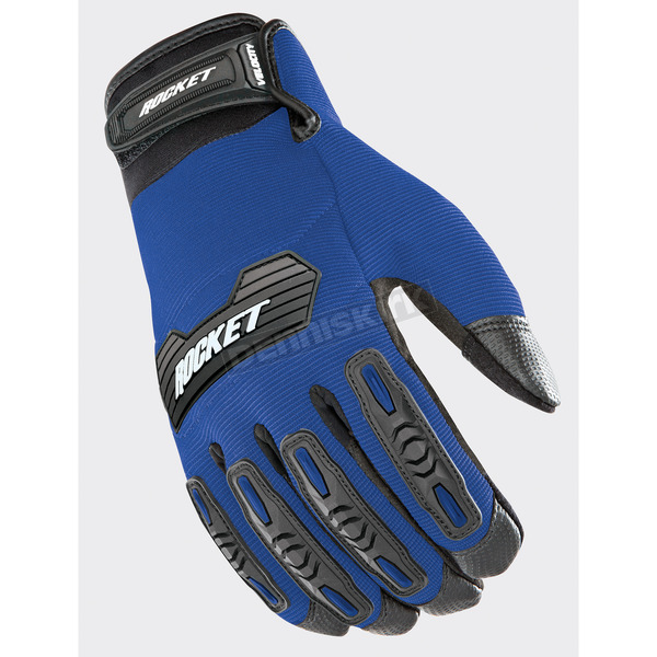 Joe Rocket Blue/Black Velocity 2.0 Gloves - 1610-4206