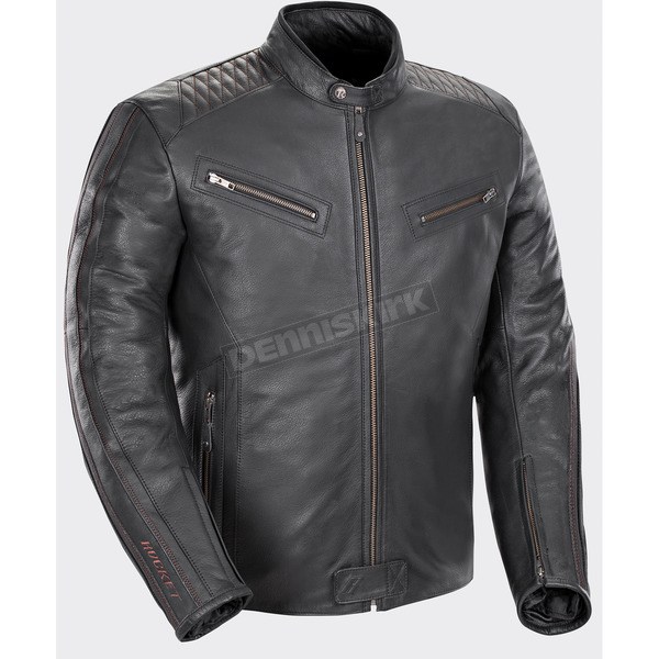 Joe Rocket Black Vintage Rocket Leather Jacket - 1680-1007