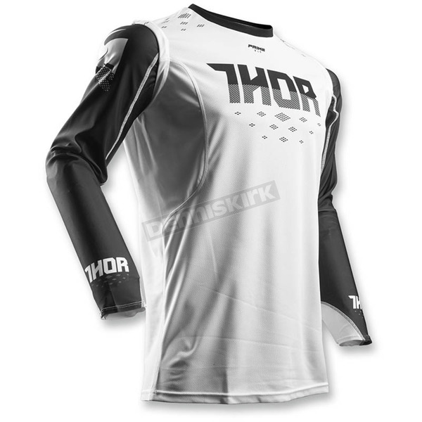 Thor Black/White Prime Fit Rohl Jersey - 2910-4228