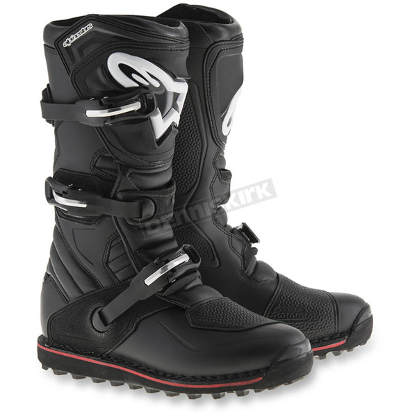 Alpinestars Black/Red Tech T Boots - 2004017-13-11
