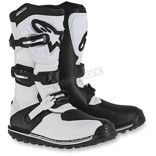 Alpinestars White/Black Tech T Boots - 2004017-21-9