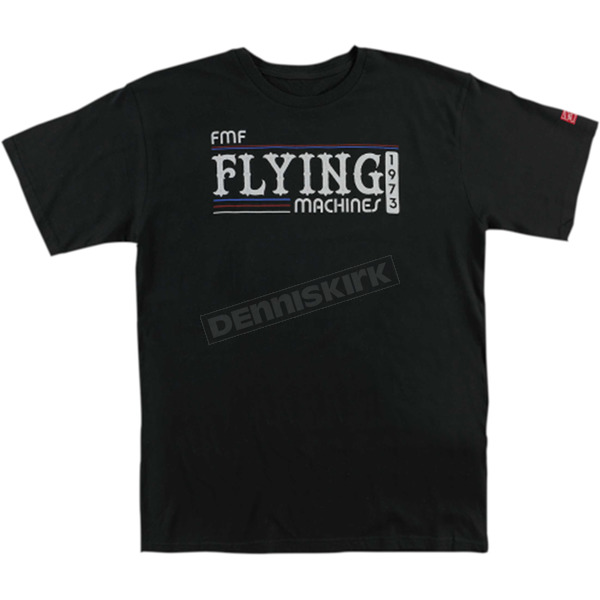 FMF Black Back in the Day Tee Shirt  - FA6118916BLK2X