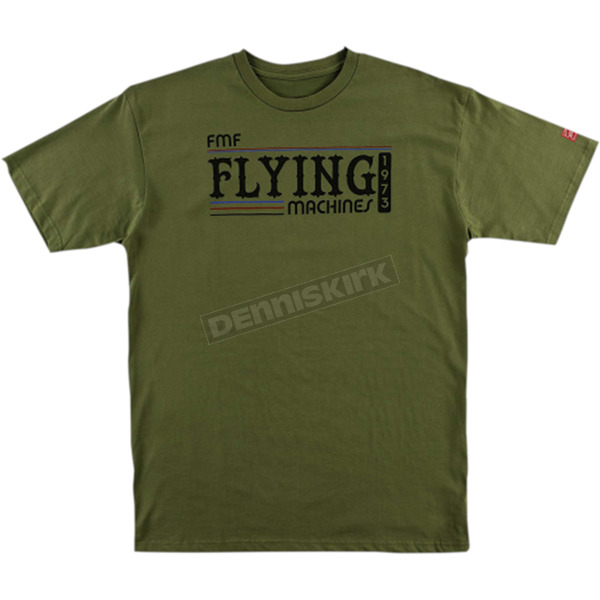 FMF Green Back in the Day Tee Shirt  - FA6118916MGNL