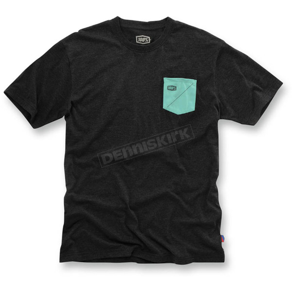 100% Dark Gray Cordova T-Shirt - 32043-018-11