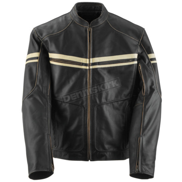 Black Brand Brown Cutthroat Jacket - BB3156