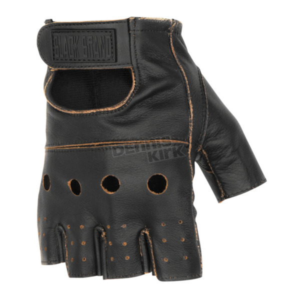 Black Brand Vintage Knuckle Shorty Gloves - BB7012