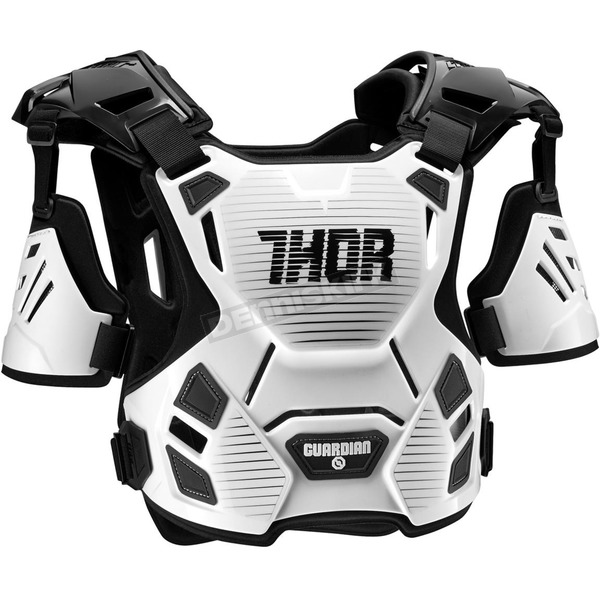 Thor Youth White/Black Guardian Roost Deflector - 2701-0799