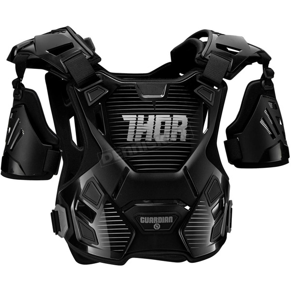 Thor Youth Black/Silver Guardian Roost Deflector - 2701-0801
