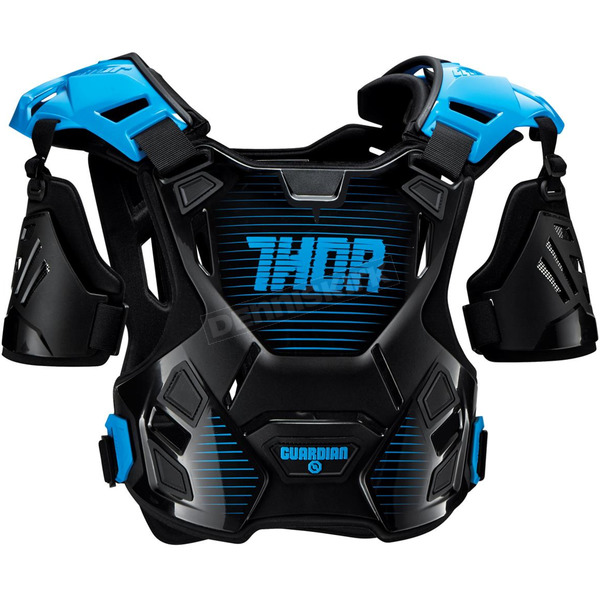 Thor Youth Black/Blue Guardian Roost Deflector - 2701-0807