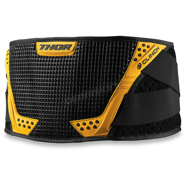 Thor Black/Yellow Clinch Belt - 2703-0131