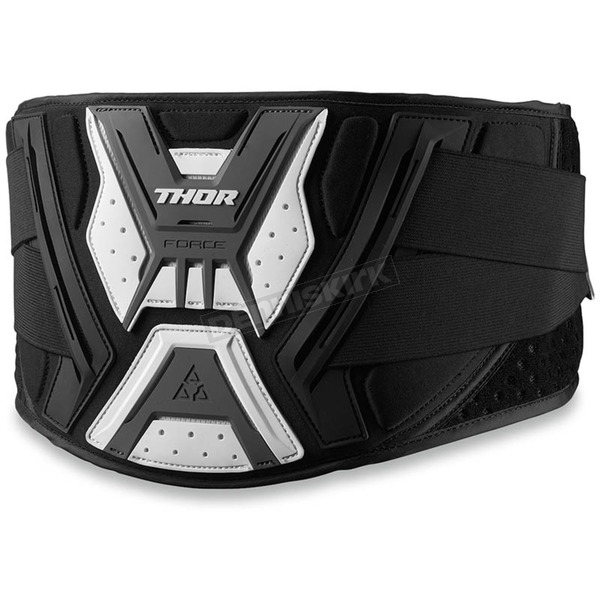 Thor Black/Grey/White Force Belt - 2703-0135
