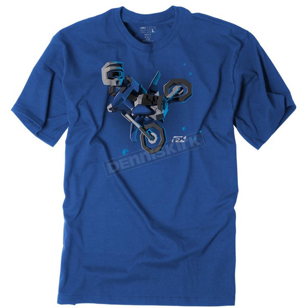 Factory Effex Youth Royal Blue Moto Kids T-Shirt - 19-83720