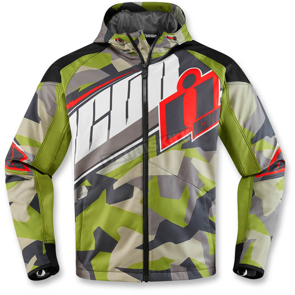Icon Green Merc Deployed Jacket  - 2820-3786