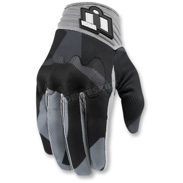 Icon Gray Anthem Deployed Mesh Gloves - 3301-2870
