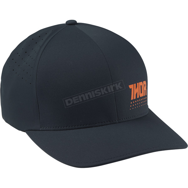 Thor Navy/Orange Aktiv Flex Fit Hat - 2501-2527