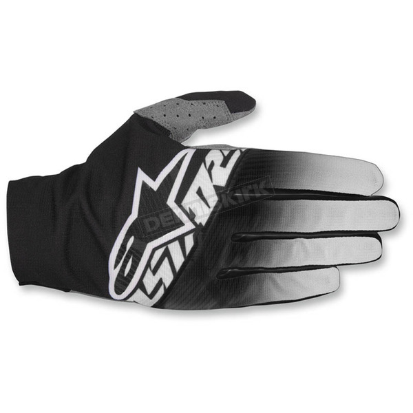 Alpinestars Black/Light Gray/White Dune-2 Gloves - 3562617-1093-2X