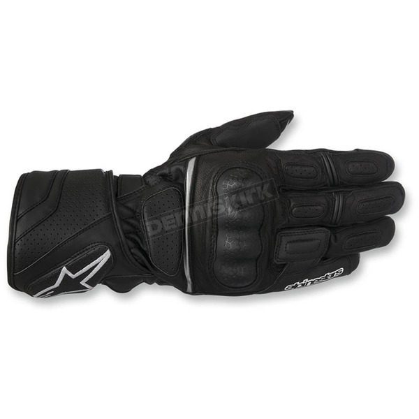 Alpinestars Black SP-Z Drystar Gloves - 3527917-10-S