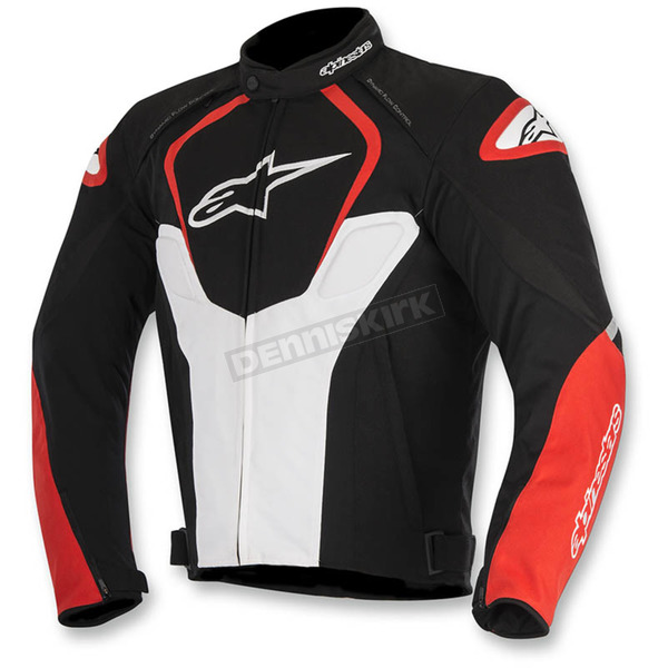 Alpinestars Black/White/Red T-Jaws Air Jacket - 3301517-123-3X