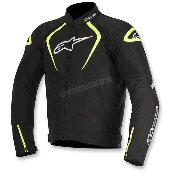 Alpinestars Black/White/Flo Yellow T-Jaws Air Jacket - 3301517-155-S