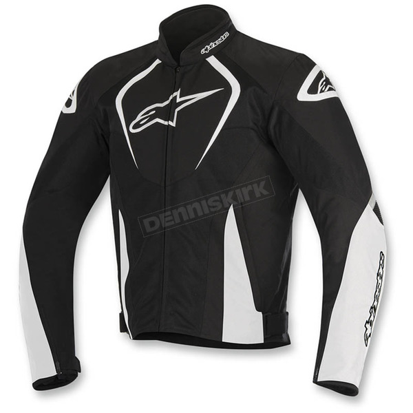 Alpinestars Black/White T-Jaws Air Jacket - 3301517-12-3X