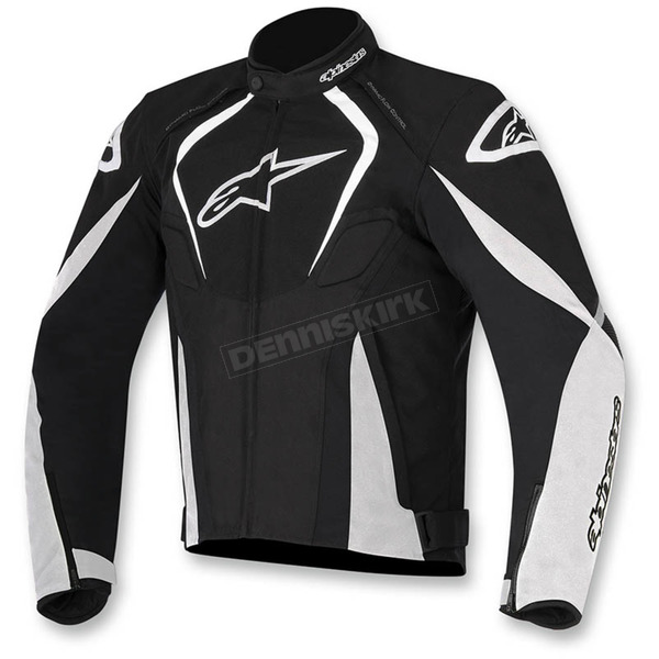 Alpinestars Black/White T-Jaws Waterproof Jacket - 3201017-12-2X