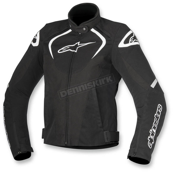 Alpinestars Black/White Womens Stella T-Jaw Waterproof Jacket - 3211017-12-S