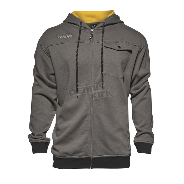 Thor Gray Mech Zip Up Hoody - 3050-3682