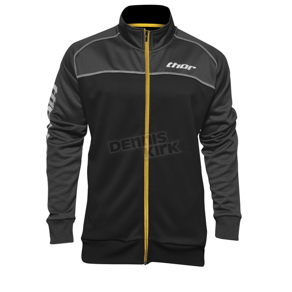 Thor Gray/Black Blocker Track Jacket - 2920-0478