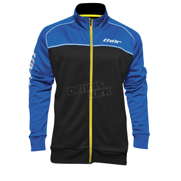 Thor Blue/Black Blocker Track Jacket - 2920-0480